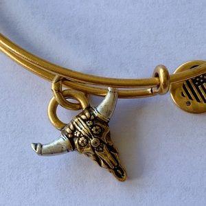 "Alex and Ani ""Spirited Skull"" bracelet"